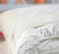 prot ge couette imperm able coton 200 x 200. Black Bedroom Furniture Sets. Home Design Ideas